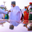 PHOTOS: Buhari receives Adama Barrow, President of Gambia