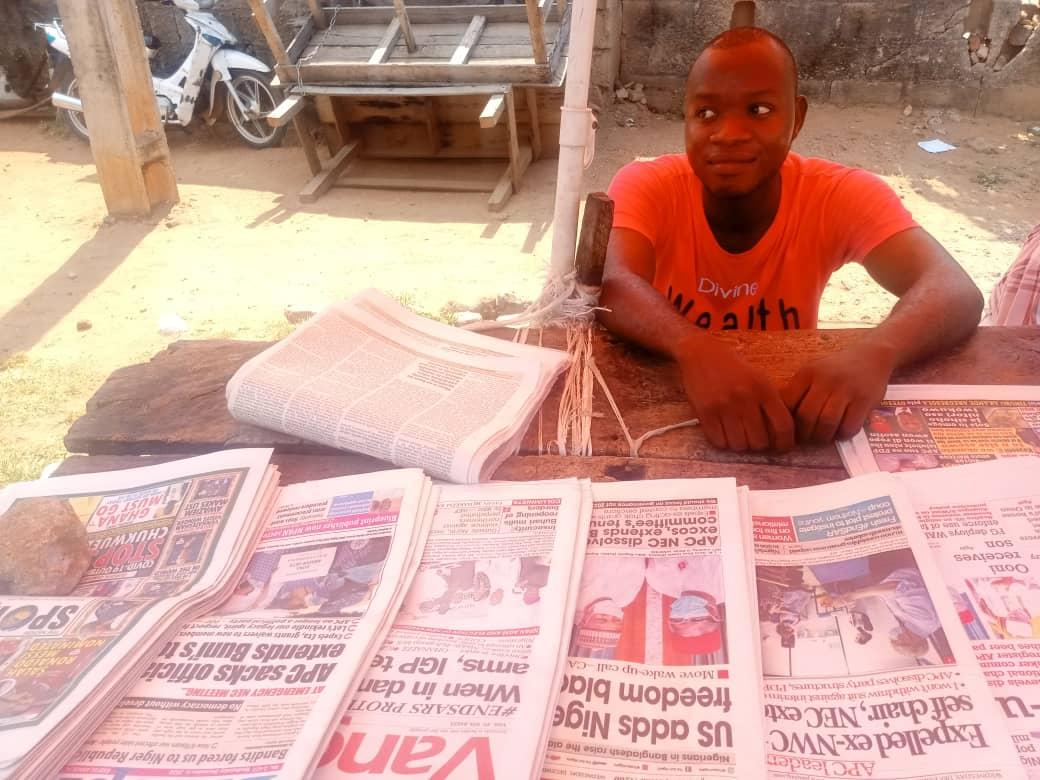 How ASUU strike turned me to A newspaper vendor ― Kehinde, 400L FUL student