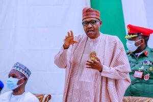 Nigeria needs Christlike values to stem insecurity, recession, COVID-19 – Buhari