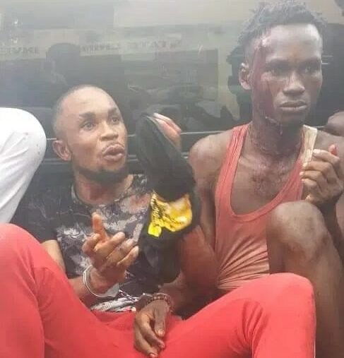 robbery suspects in Calabar