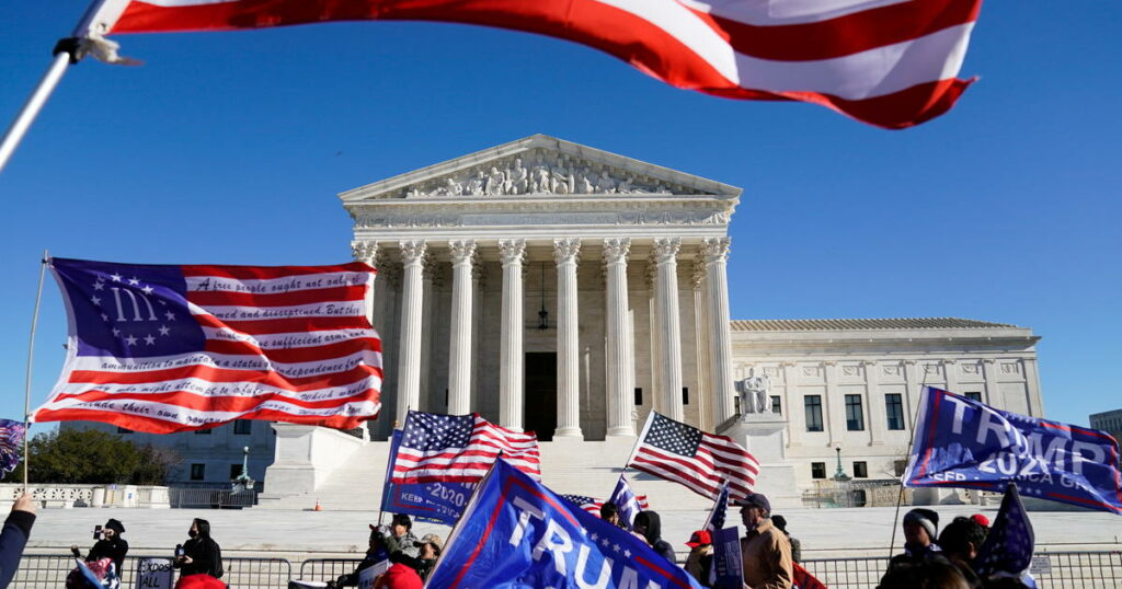US Supreme Court rejects Texas bid to overturn election results
