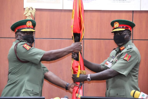 Attahiru assumes office as new army chief, Buratai bows out