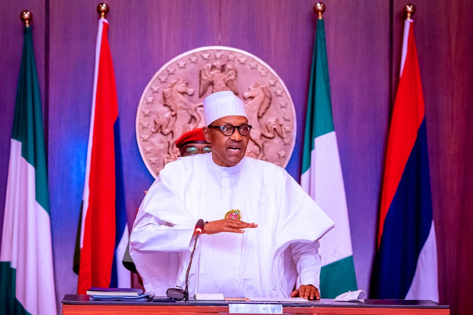 Insecurity: Be courageous enough to admit you're overwhelmed, NAS tells Buhari