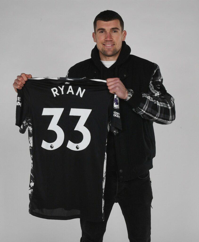 Arsenal snap up Brighton's Ryan on loan till end of season