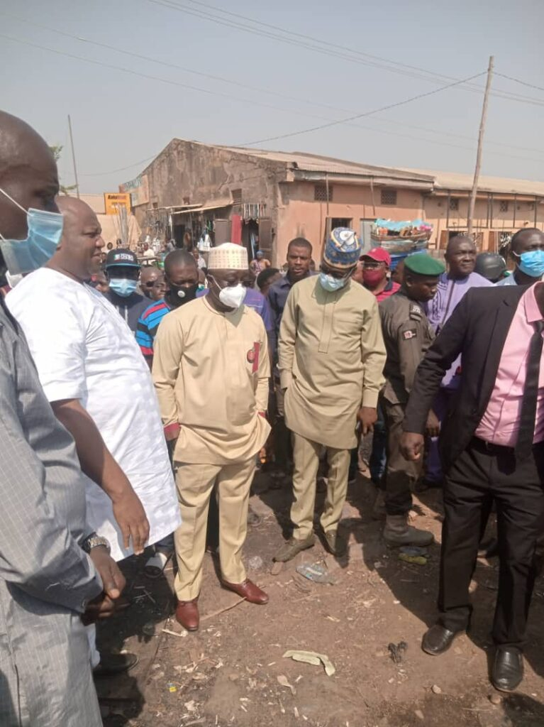 Kugbo Market Fire: Nasarawa State Govt, WOOD-ET AL, throw life-line to affected traders
