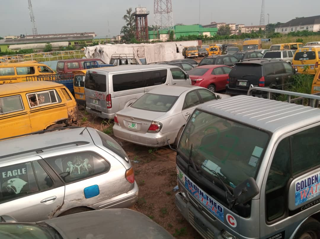 Lagos Taskforce to auction 88 vehicles impounded for driving against traffic