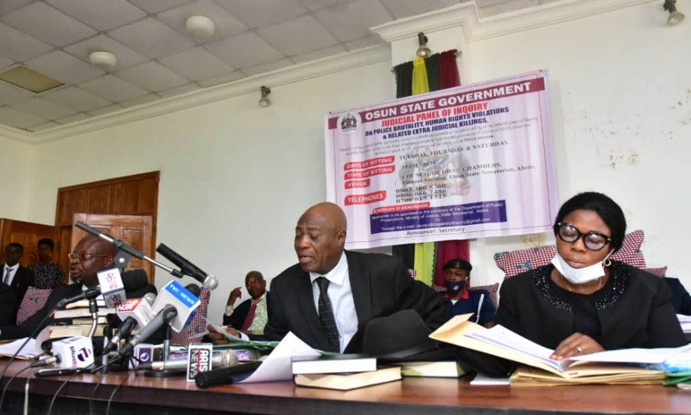 #EndSARS: Osun panel summons Ex-CP, three senior police officers