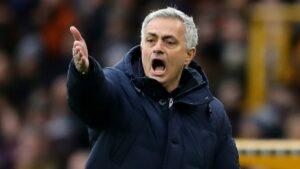 Tottenham manager, José Mourinho, sacked