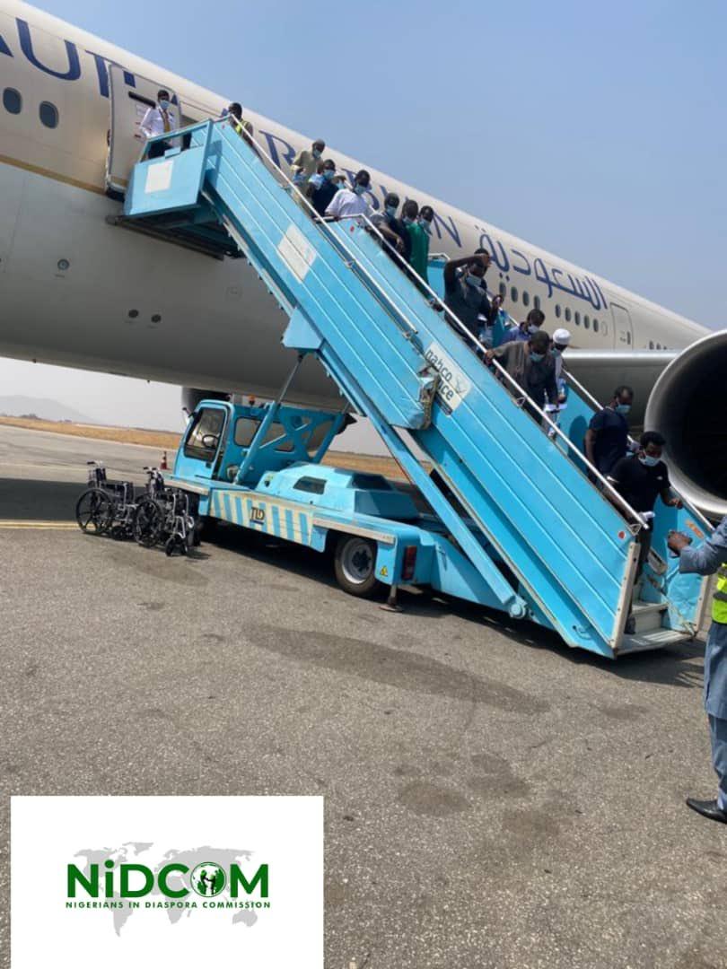 Nigerians stranded in Saudi Arabia