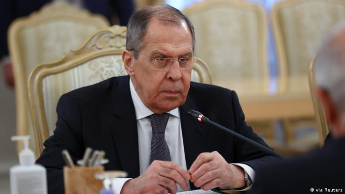 Russia's foreign minister says Moscow prepared to break with EU