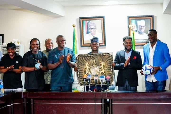 Nigeria's ex-internationals