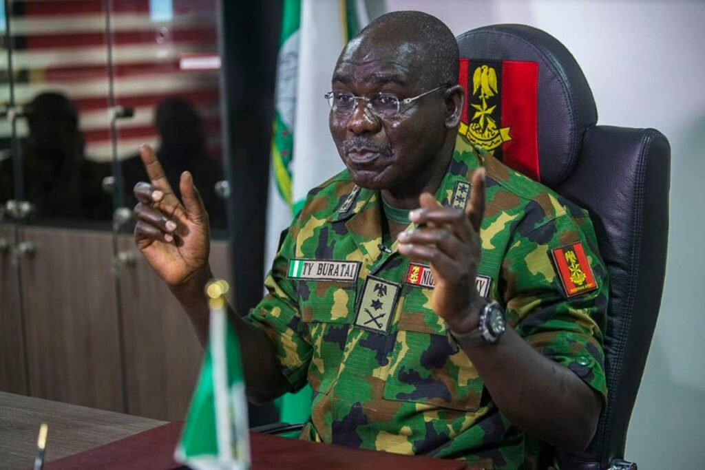 Senate begins screening of Buratai, others behind closed door