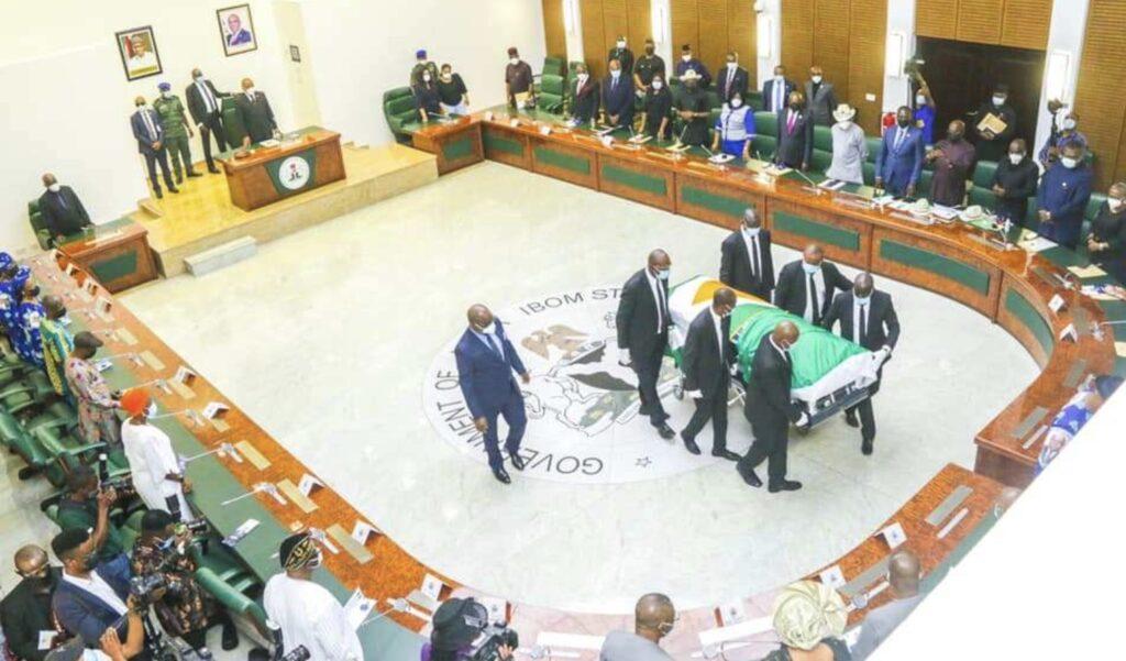 IBB, Emmanuel, Diri, PANDEF pay glowing tributes to Nkanga