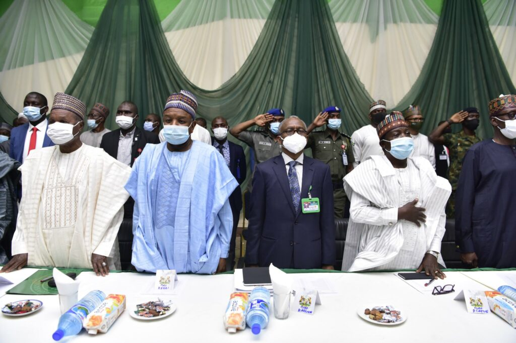North-West Governors meet NSA, Service Chiefs