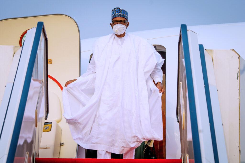 Buhari returns to Abuja after 4-day official visit to Daura, Katsina