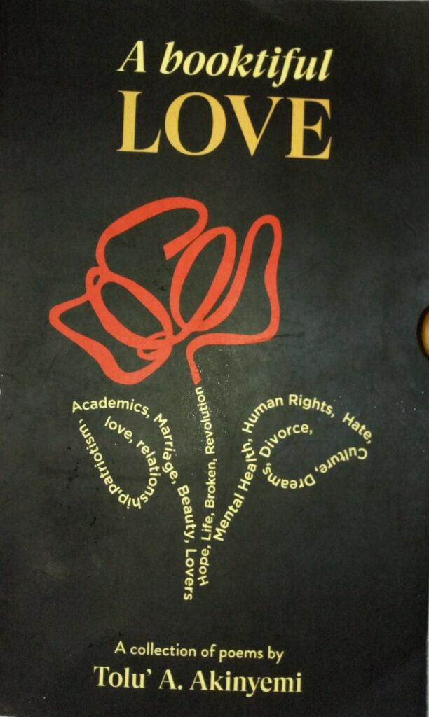 Life lessons from Tolu Akinyemi's 'booktiful' love
