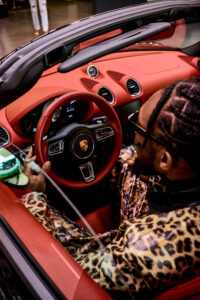 Luxe Eko: Porsche partners with Nigerian Creative Director Chisom Njoku for Art Film