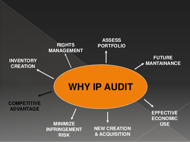 Intellectual property audit for mergers and acquisition