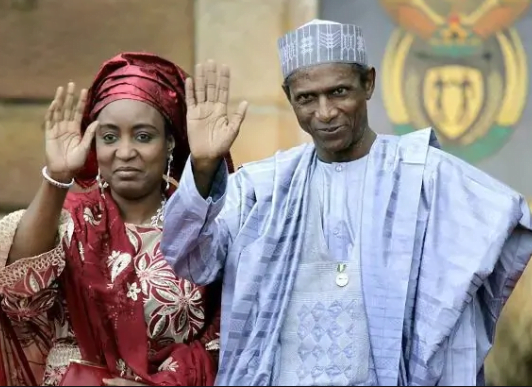 Former Nigeria First Lady urges FG to complete Yar'Adua's e-library project