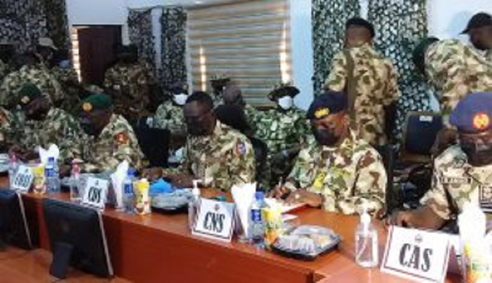 Insurgency: CDS, Service Chiefs storm Maiduguri again