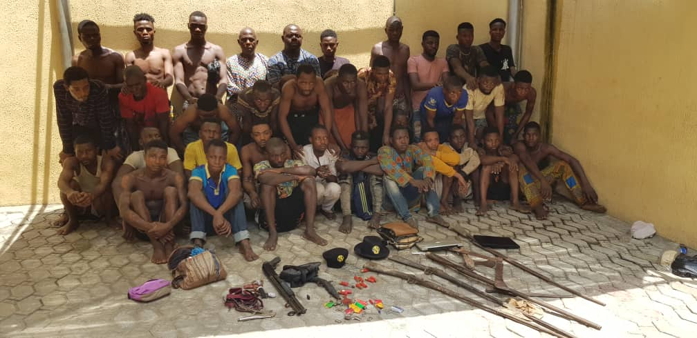 cultists, armed robbers