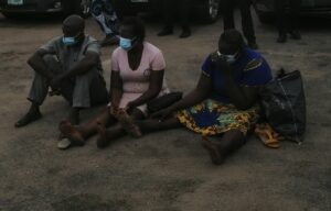 Child trafficking syndicate, baby sold