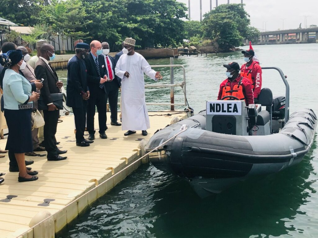 UK donates boat to NDLEA to fight drug trafficking, kidnapping