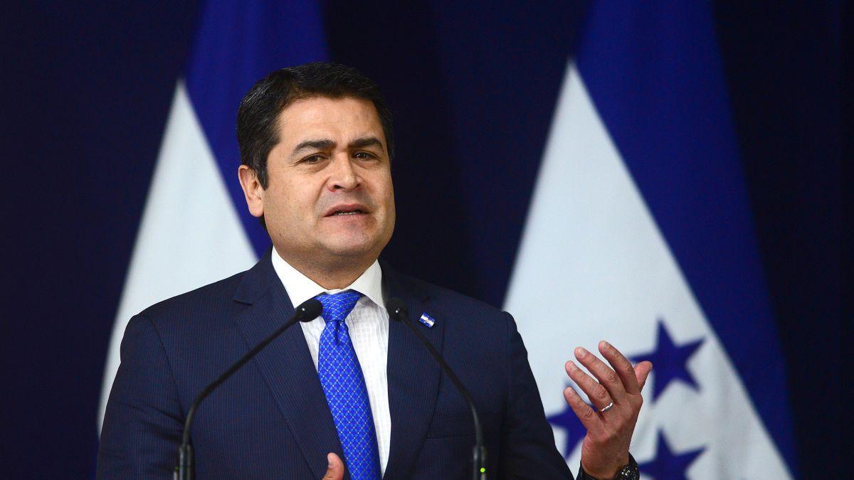 President of Honduras cocaine