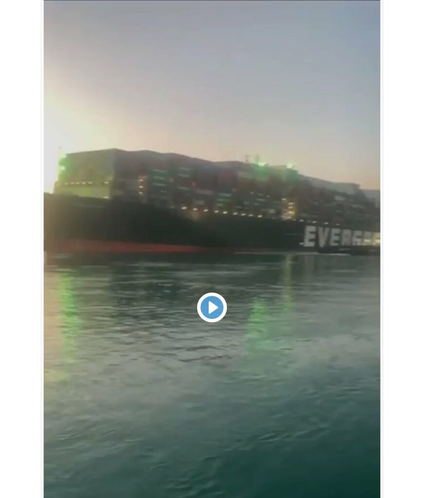 BREAKING: Ever Given ship finally refloated in Suez Canal