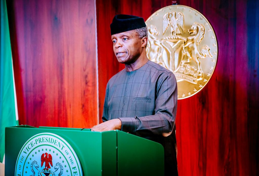 Osinbajo to NIPSS: We know about think-tanks, what we need now is 'do-tanks'