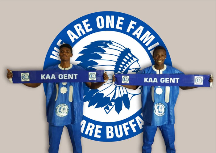 Water FC's Oladoye, Emeka join Gent
