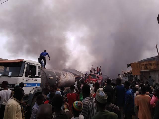 Katsina Central Market inferno