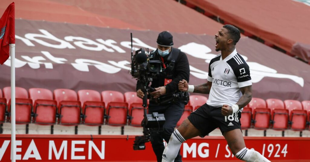 Liverpool lose to Fulham in sixth straight Anfield defeat