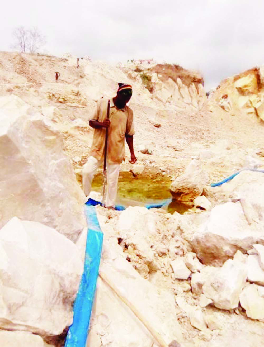 Firm, workers flee site as illegal miners invade Edo community