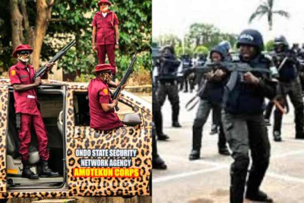 Easter: Police synergise with Amotekun, others against possible security breach in Ondo