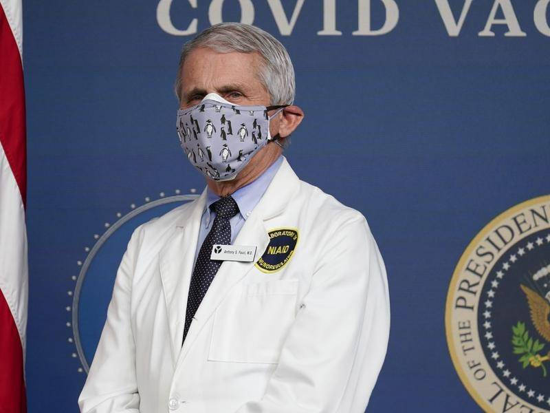 US virus expert Fauci urges country to avoid Europe's mistakes