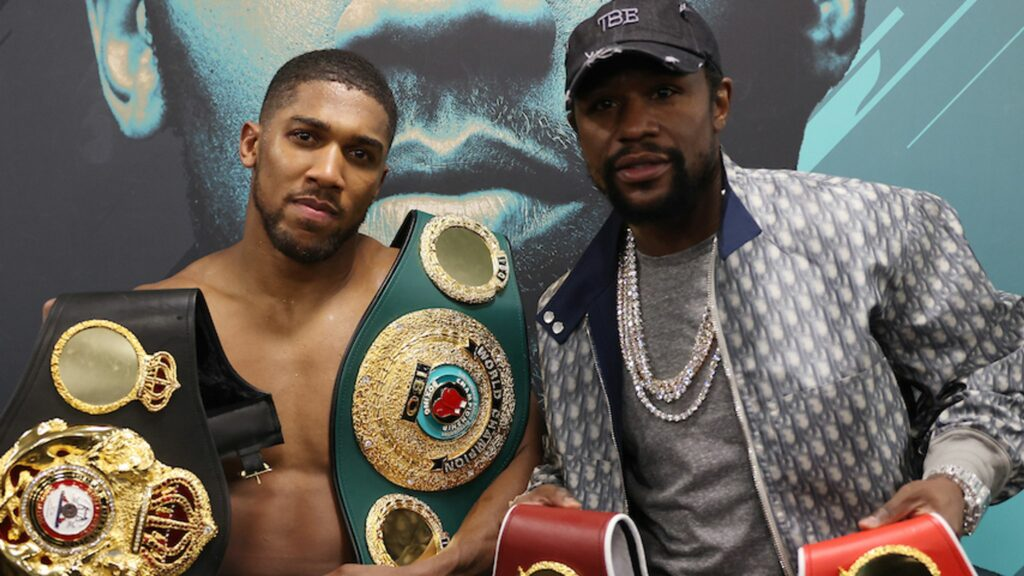 Ahead of £200m fight with Fury: Mayweather to train Joshua