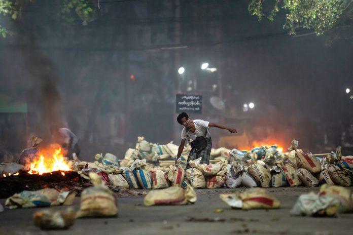Protester funerals held across Myanmar after Saturday 'massacre'