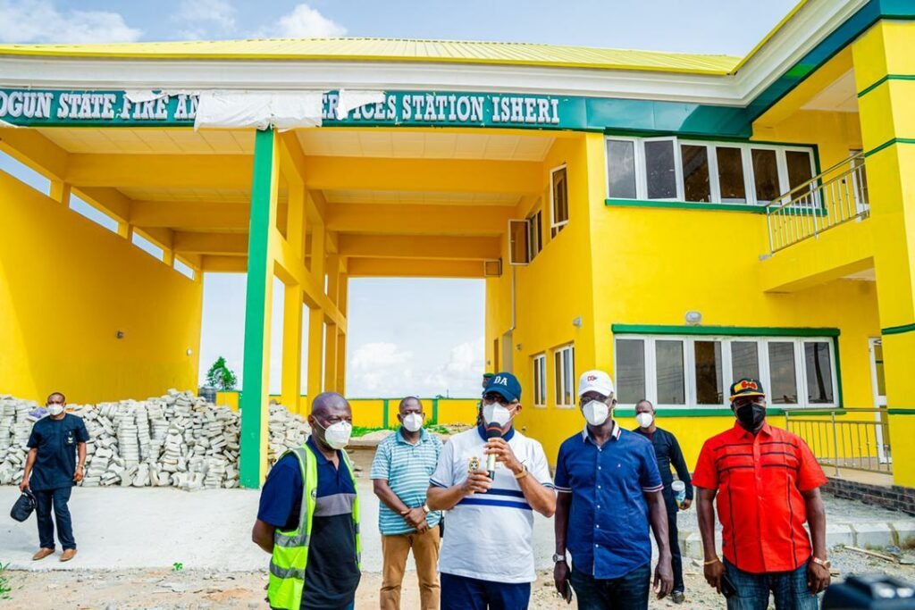 Ogun to commission four new fire stations in May ― Gov Abiodun