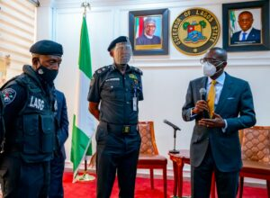 Assault: Sanwo-Olu honours police officer for professionalism