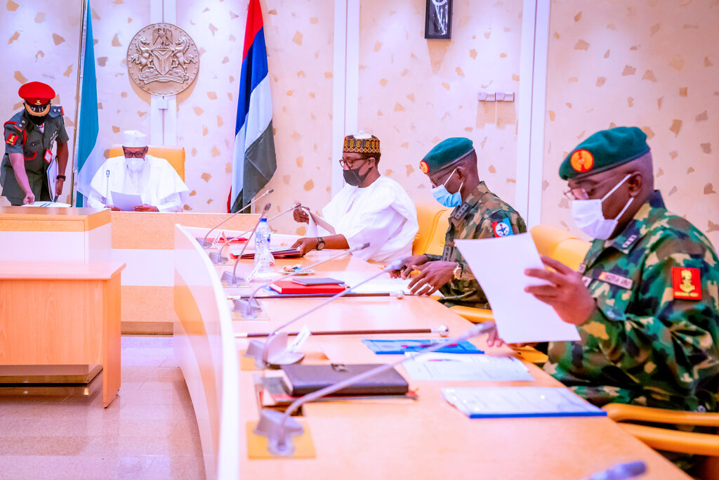 Buhari, security heads to reconvene meeting on Tuesday