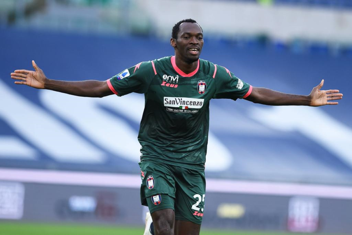 SERIE A: Crotone's Simy Nwankwo equals Weah's record