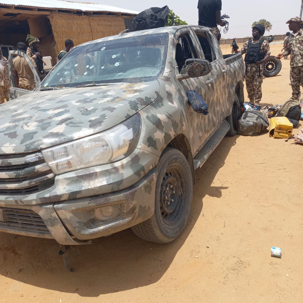 Military confirms attack on Geidam town of Yobe