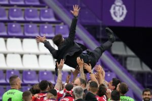 'I just laughed': After league title, Simeone hopes to keep Atlético growing