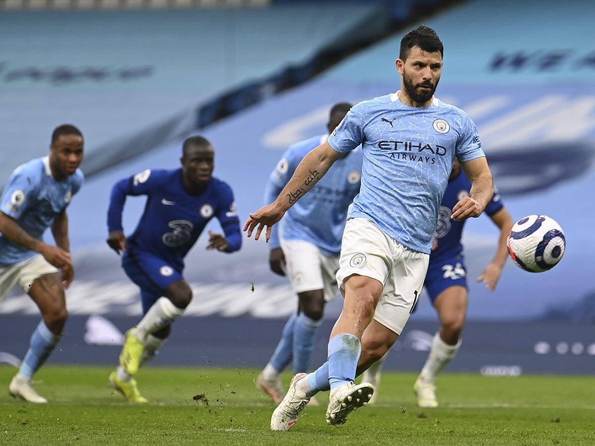 Aguero penalty against Chelsea