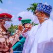 PHOTOS: Buhari receives Chad interim leader, Gen Mahamat Deby in Abuja