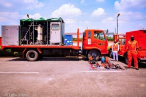 FG receives disaster risk reduction equipment from Japanese govt