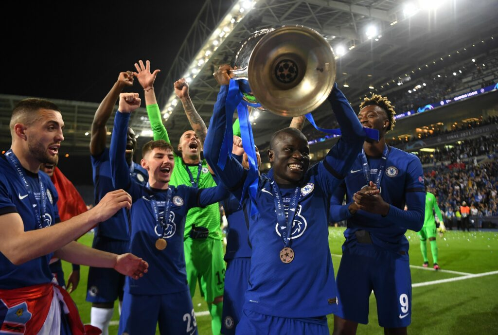 Incredible Kante propels Chelsea to Champions League glory