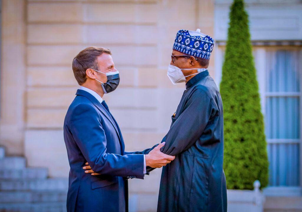 Macron to Buhari: France 'll support Nigeria with everything to overcome security threats