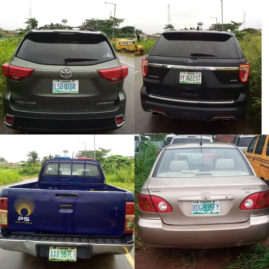 Driving against traffic: Lagos impounds 10 vehicles on International Airport Road